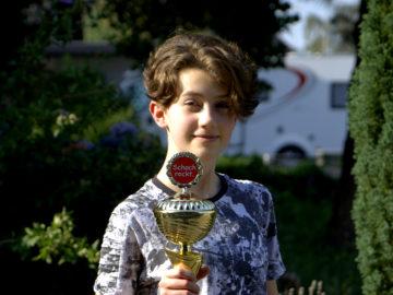 Landesmeisterin U18w: Swantje Minneken